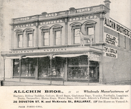 Allchin Brothers - Ballarat and District Industrial Heritage Project