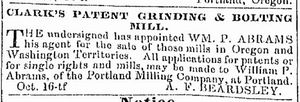 Abrams WP 1852-circa Ad for grinding mill.jpg